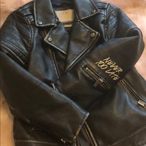 ZARA BOYS FAUX LEATHER JACKET